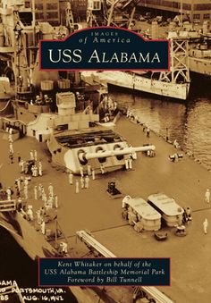 USS Alabama - Pictorial History - Signed by Author
