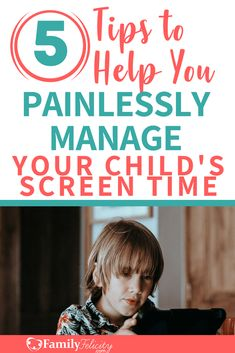 Are the kids over doing it with the electronic devices and TV? End the screen time struggles today with these 5 tips to help you effectively manage screen time! Parenting Toddlers, Foster Parenting, Gentle Parenting, Parenting Quotes, Parenting Advice, Practical Parenting, Funny Parenting, Peaceful Parenting, Parenting Styles