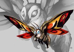 Mothra by Aosk26 on DeviantArt