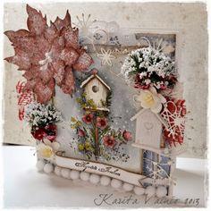 Birdhouse - Wild Rose Studio
