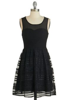 All That and Noir Dress, @ModCloth