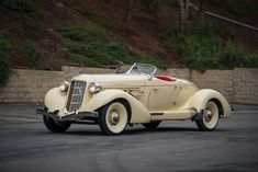Joan Crawford's Cadillac and More Classic American Cars | Sotheby's    1935 Auburn Eight Supercharged Speedster. Estimate $500,000–650,000.
