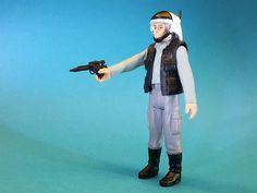 Vintage Custom Rebel Trooper - Star Wars IV: A New Hope (by Arturo del Pozo) Star Wars Action Figures, Custom Action Figures, Rebel, Star Wars Toys, A New Hope, Star Wars Collection, The Originals, Studio, Vintage
