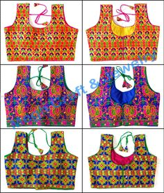 Readymade Sleeveless Blouse-Antique kutch rabari banjara gypsy tribe traditional hand embroidered blouse choli top  For Wholesale Visit@ www.indianethnicjewelry.com Etsy Shop @ https://www.etsy.com/shop/craftsofgujarat?ref=hdr_shop_menu