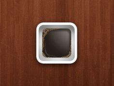 Dribbble - iOS Coffee Icon by Gerardo Diaz