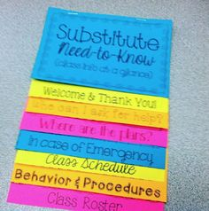 Sub plans for the music classroom: Suggestions for putting together a sub tub, links to great sub plan freebies as well as this great flip book, and more!