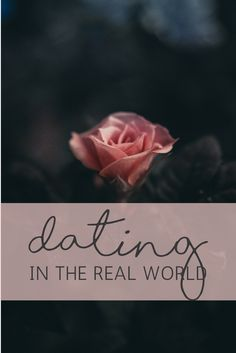 Dating in the Real World   Confessions of a Single Mum