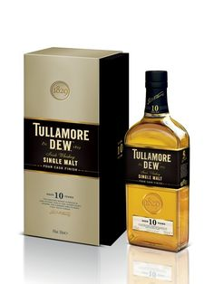 TULLAMORE DEW 10 ans Single Malt Irish Whisky