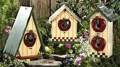 comment fabriquer une cabane d'oiseau - Recherche Google