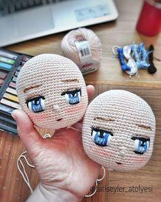 Têtes de poupées