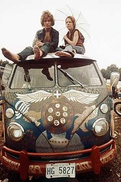 I swear there is a little hippie inside of me, I wish I could have gone to Woodstock!!