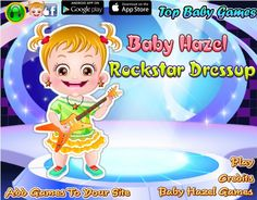 Baby Hazel needs your help to get a rockstar looks as she has to perform a rock show. Dress up Baby Hazel in trendy and cute rockstar outfits and accessories. http://www.topbabygames.com/baby-hazel-rockstar-dressup.html