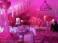 I never thought I would like pink for my wedding...but this is sooo romantic.  Pandora Vanderpump's wedding