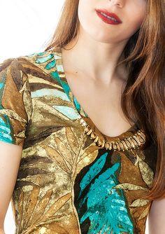 T-shirt  jersey viscosa/elastan  mod.CINZIA Short di AltaModaDonna