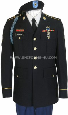 Army dress blues--Grant will look SO sharp on our wedding day. (Minus the blue infantry cord on the sleeve)