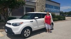 BRENDA 's new 2015 KIA SOUL! Congratulations and best wishes from Benny Boyd Motor Company - Marble Falls and DEE NIXON.