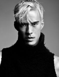 #wilhemminaNY #malemodel #Model #test #testshoot #male #menshair #barbering #barber #hairbynikay #blonde #whiteblondehair #cut #menscut #menscut2015 book with me @ Matthew Morris Salon  303.715.4673 Ask for Nicole