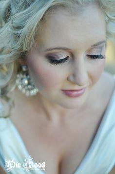 Beautiful wedding day make up