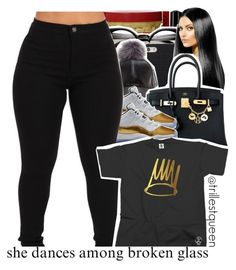 """""""08-29-2016."""" by trillestqueen ❤ liked on Polyvore featuring NYX, ZeroUV and Hermès"""