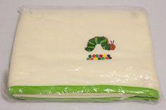 The Very Hungry Caterpillar Fleece Blanket ERIC CARLE