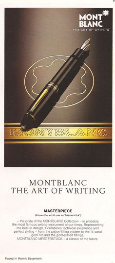 I have this model but in  roller ball , I love it !!!   Every man needs a fine writing instrument