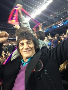 Ronnie Wood | The Rolling Stones Barça!!
