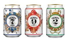 TemptCider - TheDieline.com - Package Design Blog