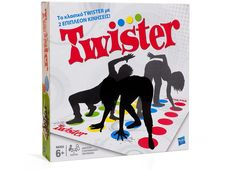 The iconic TWISTER brand celebrates its anniversary today ringing in five decades of precarious positions. Hasbro, Inc. invites TWISTER fans across the nation to rock the dots and pay tribute to the classic game. Outdoor Games For Kids, Indoor Games, Couple Games, Family Games, Family Kids, Twister Board Game, Cool Board Games, No Stress Chess, Classic Board Games
