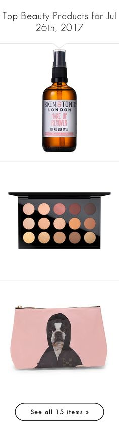 """Top Beauty Products for Jul 26th, 2017"" by polyvore ❤ liked on Polyvore featuring beauty products, skincare, face care, makeup remover, makeup, eye makeup, eyeshadow, mac cosmetics, palette eyeshadow and mac cosmetics eyeshadow"