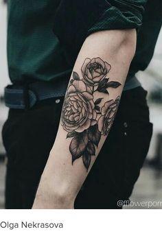 Tatto Rosas en Brazo by Olga Nekrasova …