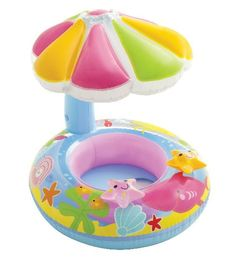 Intex Fish Baby Float Inflatable Sunshade Fun New for swimming Pool NEW Baby Pool, Baby Swimming, Swimming Pools, Baby Fish, Baby Water Toys, Baby Annabell, Baby Float, Pool Floats, Pool Supplies