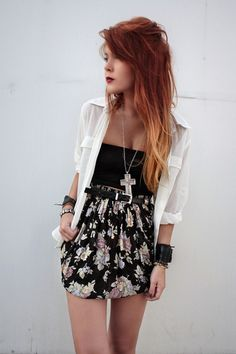 Google Image Result for http://images2.chictopia.com/photos/lehappy/2219006442/black-vintage-skirt-silver-forever-21-necklace_400.jpg