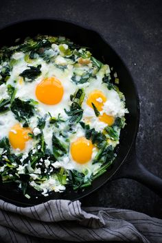 Sautéed Dandelion Greens with Eggs. This five ingredient breakfast or dinner utilizes one of the healthiest vegetables out there: fresh dandelion greens!