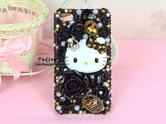 Black Kitty Case - Yukiumi, Your Online Japanese Outlet for Hime & Kawaii Accessories