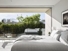 Bright room with terrace