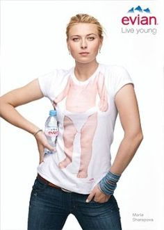 Just ahead of Wimbledon, Maria Sharapova signed a multiyear agreement with Groupe Danone SA's Evian water brand, and will be the face of their Rollerbabies campaign. For the world famous campaign, Sharapova is wearing a t-shirt with a printed figure of a baby and a bottle of Evian water. Sharapova was chosen by the brand …