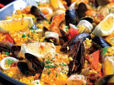Eric Ripert's Seafood Paella | Hamptons Magazine