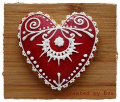Gingerbread heart Gingerbread, Christmas Ornaments, Holiday Decor, Heart, Home Decor, Decoration Home, Room Decor, Ginger Beard
