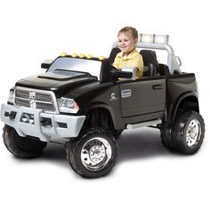 Kid Trax Dodge Ram Truck 12-Volt Battery-Powered Ride-On: Bikes & Riding Toys : Walmart.com