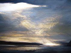 Changing Light, Mull - Egg Tempera on Gesso Zarina Stewart Clark