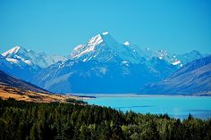 Mount Cook.  The village was my home for 9 years.