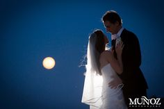 A super moon for a super stunning couple! Congrats Rebecca & Jeff!