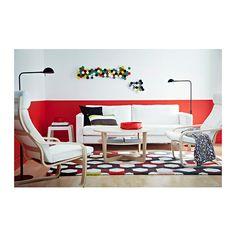 JERNVED Tapete pelo comprido IKEA O pelo denso e espesso amortece o som e oferece uma superfície confortável para os seus pés.