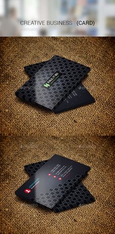 Creative Business Card08 — Photoshop PSD #clean #business • Available here → https://graphicriver.net/item/creative-business-card08/14057933?ref=pxcr