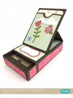 Lori Whitlock Gift Card Box by Traci Penrod.