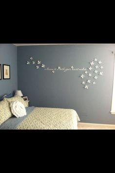 Haus Design, Deko Ideen, Schlafzimmer, Kinderzimmer, Selbermachen,  Einrichtung, Dekoration, Schlafzimmerwand, Schlafzimmerdeko, Schlafzimmer  Ideen, Sticker, ...
