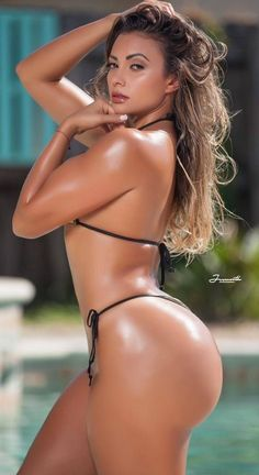 My collection of eye candy, delicious morsels, and the occasional random thought (All photos are the property of the original owners unless otherwise stated) LIKES ARCHIVE Hot Bikini, Bikini Girls, Latin Girls, Bikinis, Swimwear, Swimsuits, Curves, Sexy Women, Beautiful Women