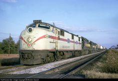RailPictures.Net Photo: SAL 3023 Seaboard Air Line EMD E7(A) at Cary, North Carolina by Wharton Separk
