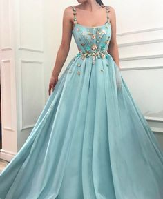 Buy Elegant A Line Spaghetti Straps Tulle Scoop Prom Dresses with Appliques, Formal Dresses online.Shop short long ombre prom, homecoming, bridesmaid evening dresses at Couture Candy Cocktail party dresses, formal ball gowns in ombre colors. Tulle Prom Dress, Cheap Prom Dresses, Quinceanera Dresses, Sexy Dresses, Long Dresses, A Line Dresses, Dress Wedding, Dress Long, Formal Dresses Long Elegant