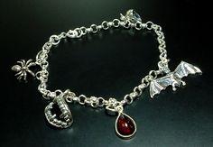Moonmaiden Gothic Clothing - Gothic Charm Bracelet